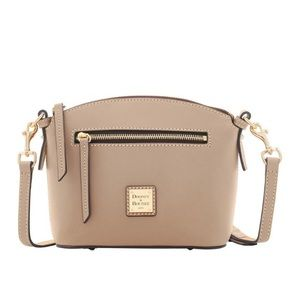 Dooney & Bourke Light Taupe Leather Crossbody NWT